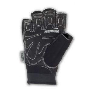 Schwarze Profi Gym Handschuhe