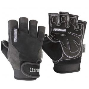 Schwarze moderne Profi Gym Handschuhe