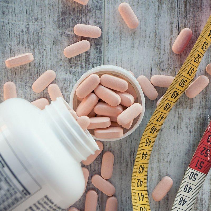 Social Media Post Tabletten im Training